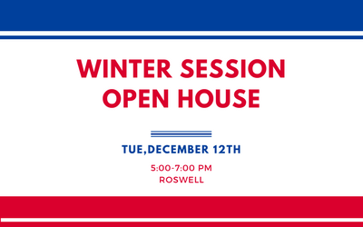 Open House | Roswell | TUE, DEC 12, 2017