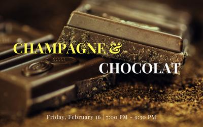 Champagne & Chocolat | MIDTOWN | FRI, FEB 16, 2018