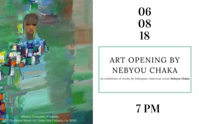Art Opening by Nebyou T. Chaka | Midtown | June 8, 2018