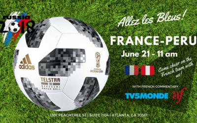 WORLD CUP 2018 – France/Peru | Midtown | June 21, 2018