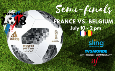 WORLD CUP 2018 – France/Belgium | Midtown | July 10, 2018
