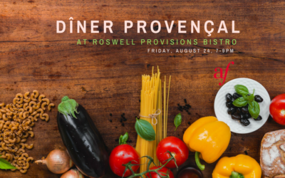 French Family Dinner at Roswell Provisions Bistro | Roswell | August 24, 2018