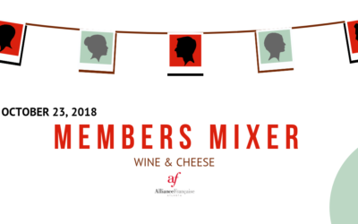 AF Members Mixer –   Wine & Cheese | Tuesday, October 23 | Midtown