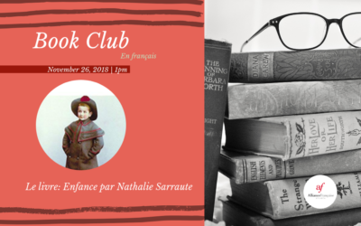 Book Club in French: Enfance by Nathalie Sarraute  | Monday, November 26 | Midtown