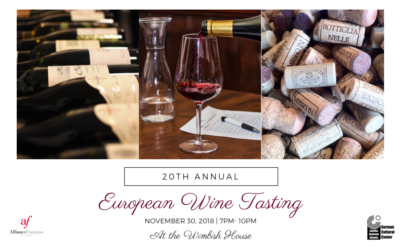 European Wine Tasting | Friday, November 30 | The Wimbish House