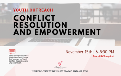 Youth Outreach : Conflict Resolution and Empowerment | Thursday, November 15 | Midtown