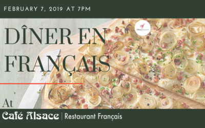 Dîner en Français | Thursday, February 7 | Café Alsace, Decatur – SOLD OUT