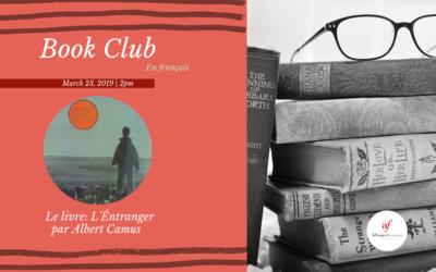 March Book Club | Saturday, March 23rd | AF Midtown