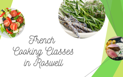 French Cooking Classes | April – October | Barrington Hall, Roswell