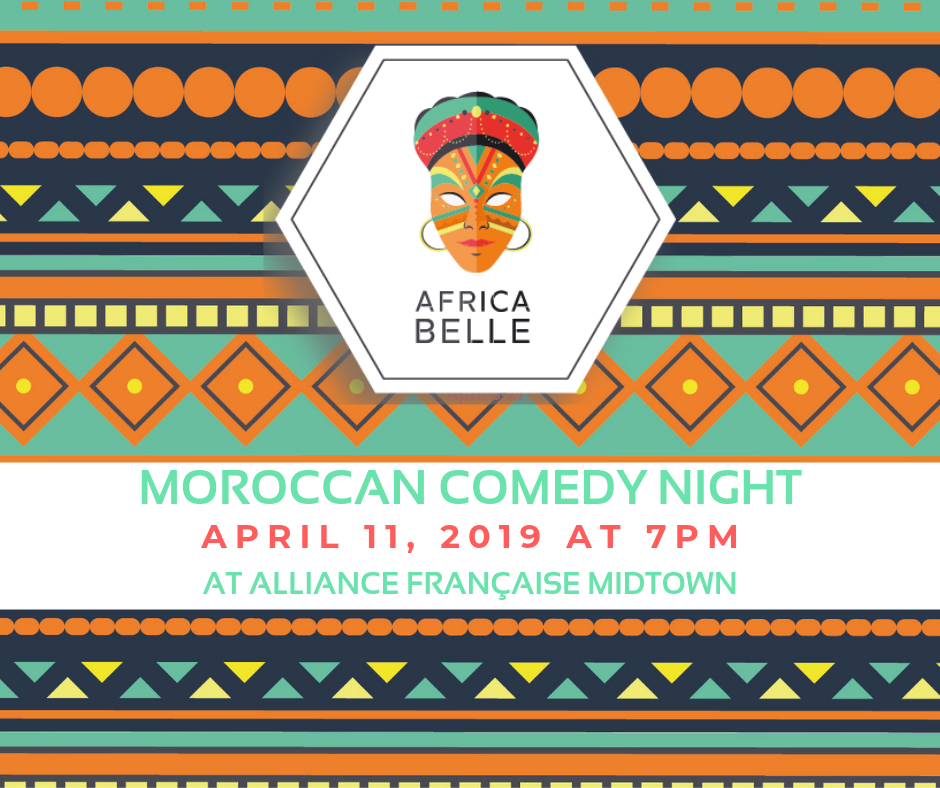 Africa Belle: Moroccan Comedy Night with Les Inqualifiables @ Alliance Française Midtown