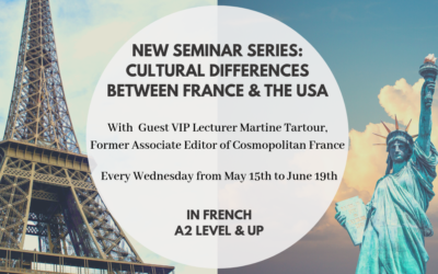 Seminar Series: France vs USA with VIP Guest | May 15th to June 19th | Midtown