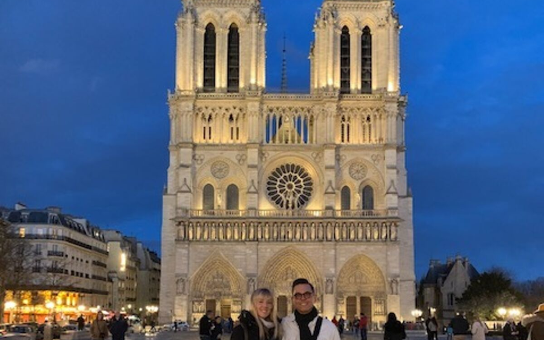 AF ATL Members show support for Notre Dame Cathedral