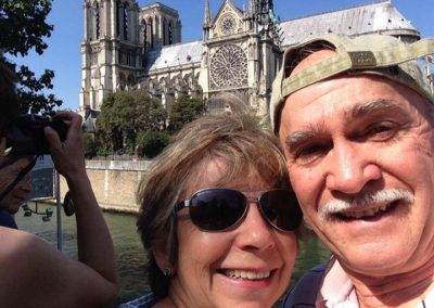 Dana Joseph and husband