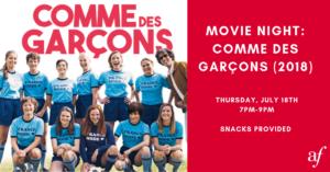 Movie Night: Comme des Garçons @ Alliance Française Midtown | Atlanta | Georgia | États-Unis