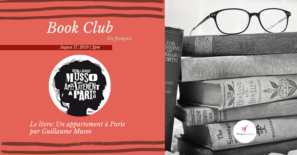August Book Club @ Alliance Française Midtown  | Atlanta | Georgia | United States