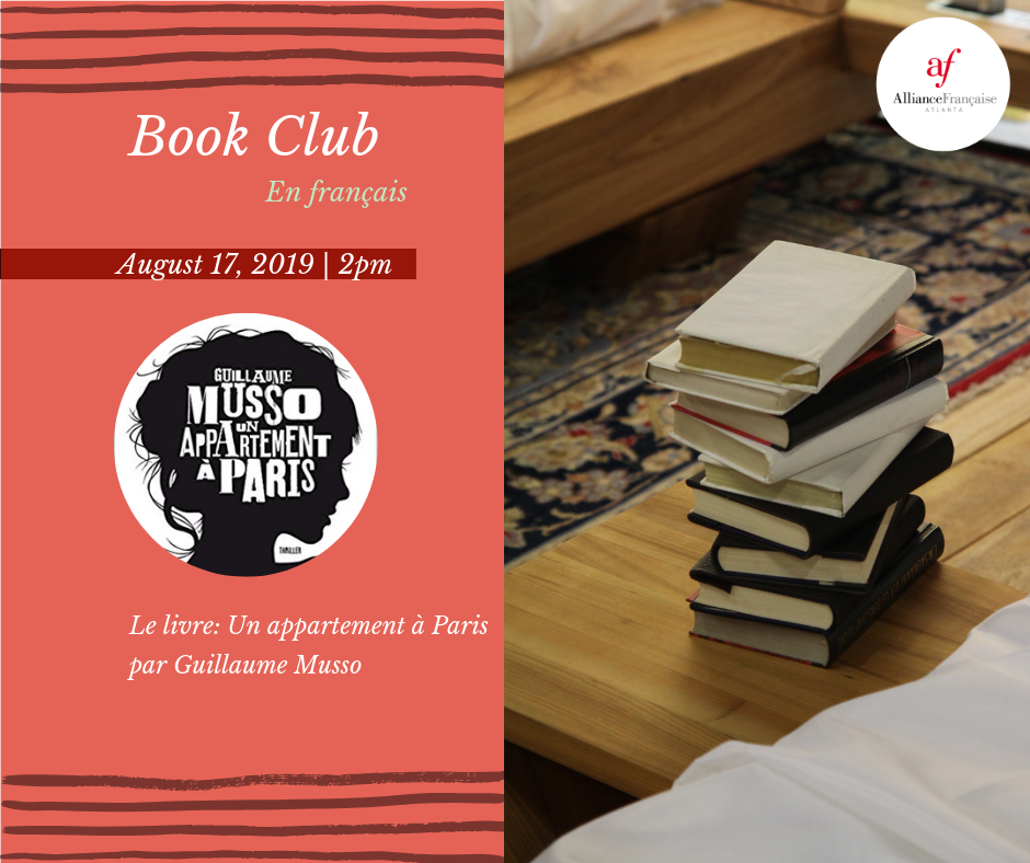 Book Club En Francais Saturday August 17th Midtown
