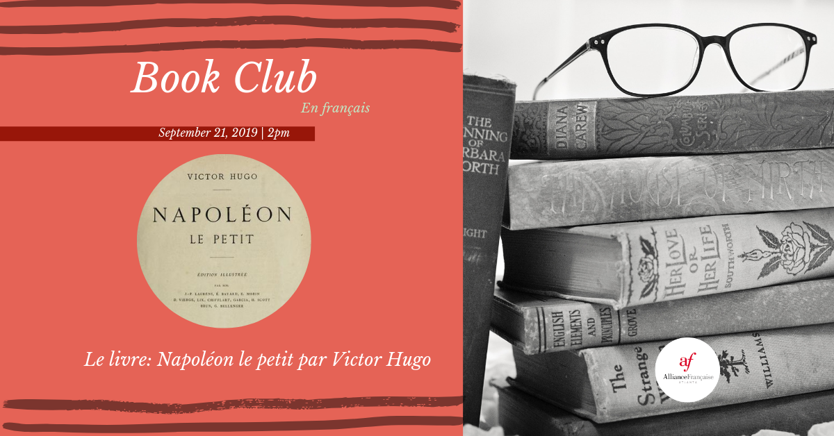 Book Club en français @ Alliance Française Midtown