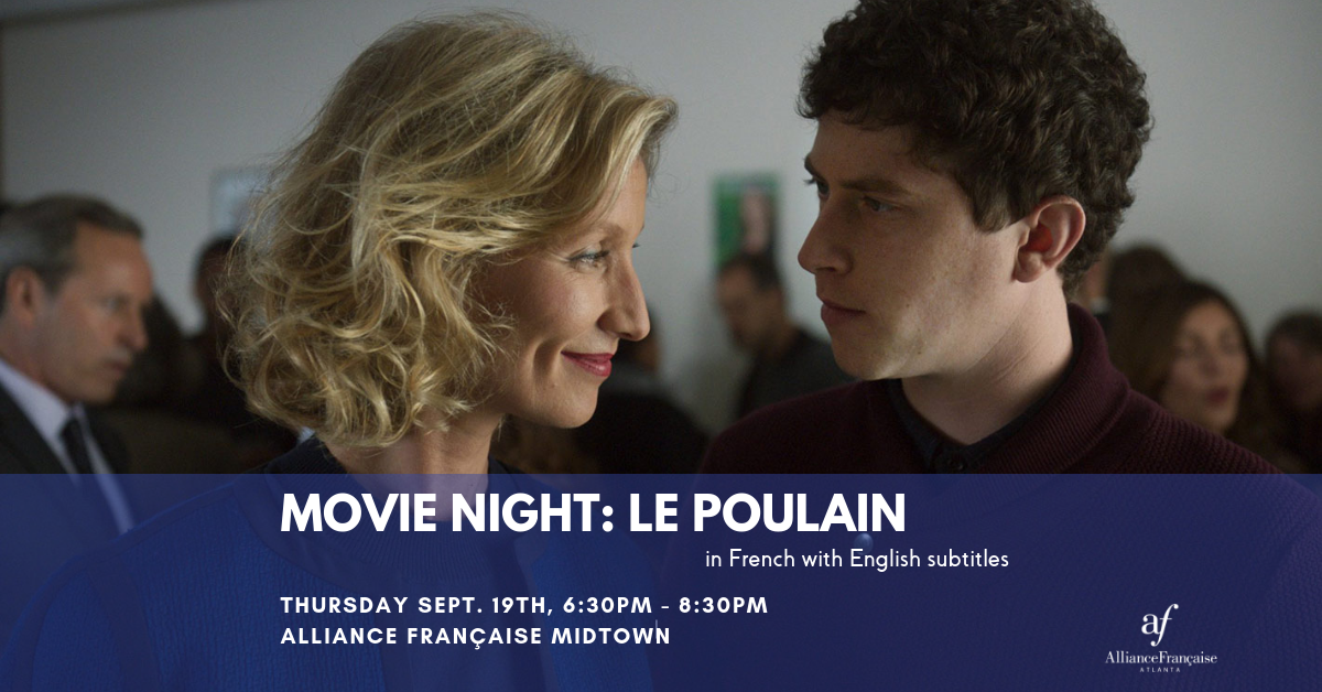 Movie night: Le Poulain @ AF Midtown