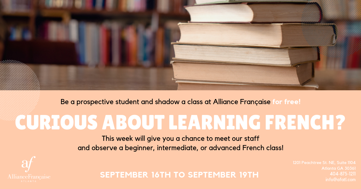Prospective Student Week @ Alliance Française Midtown