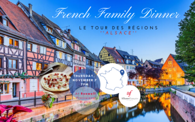 SOLD OUT: French Family Dinner: Alsace | Thursday, November 7th | Roswell