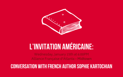 Conversation with French author Sophie Kartochian| Wednesday, January 15th | Midtown