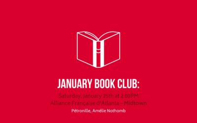 Book Club en français | Saturday, January 25th | Midtown