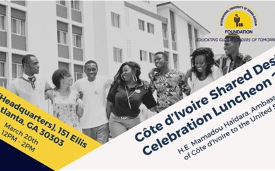 Côte d'Ivoire Shared Destiny Celebration Luncheon 2020 | Friday, March 20th |CARE